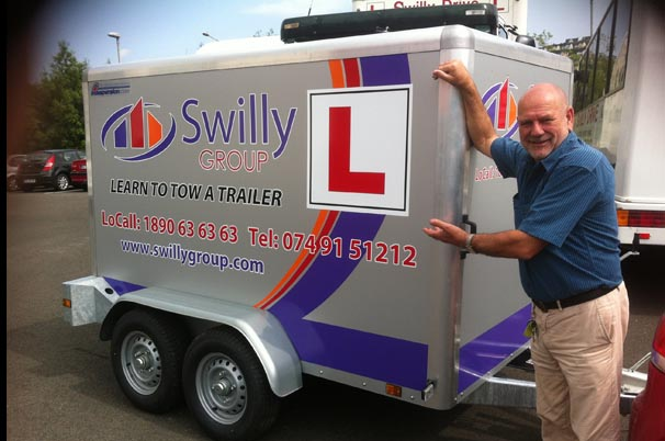 Noel Sweeney and his new Trailer